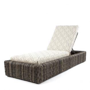 Orsay smoke chaise lounge with Twist Smoke cushions