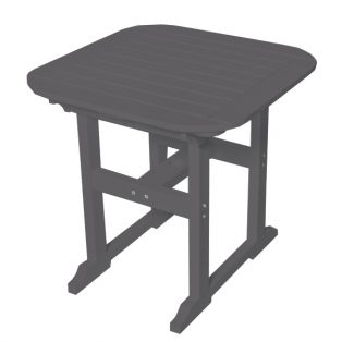 """Portsmouth 30"""" square dining table with a Charcoal finish"""