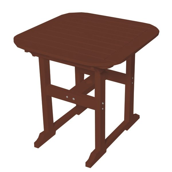 """Portsmouth 30"""" square dining table with a Chestnut finish"""