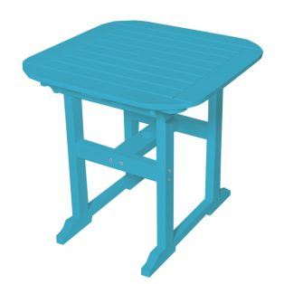 "Portsmouth 30"" square dining table with a Pool finish"