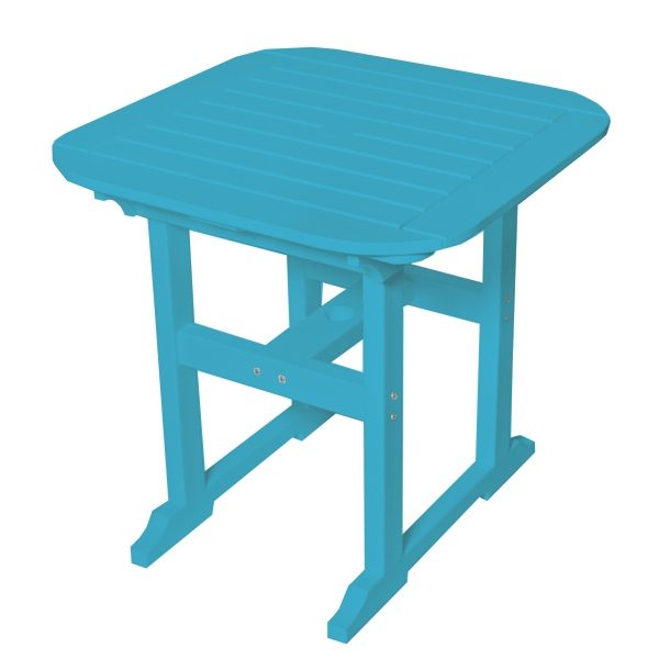 """Portsmouth 30"""" square dining table with a Pool finish"""