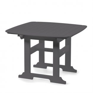 """Portsmouth 42"""" square dining table with a Charcoal finish"""