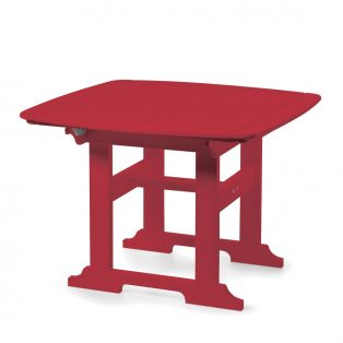 "Portsmouth 42"" square dining table with a Cherry finish"