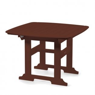 """Portsmouth 42"""" square dining table with a Chestnut finish"""