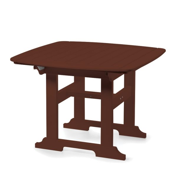 "Portsmouth 42"" square dining table with a Chestnut finish"