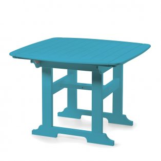 "Portsmouth 42"" square dining table with a Pool finish"