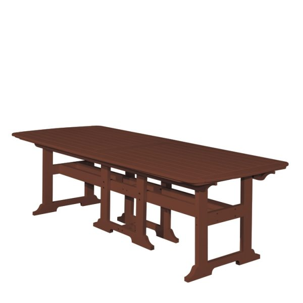 """Portsmouth 42"""" x 100"""" dining table with a Chestnut finish"""