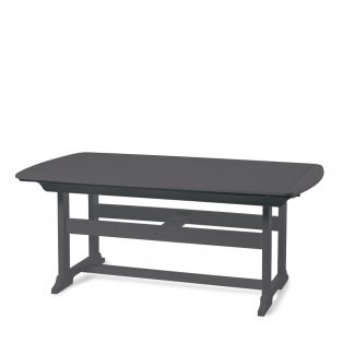 "Portsmouth 42"" x 72"" dining table with a Charcoal finish"