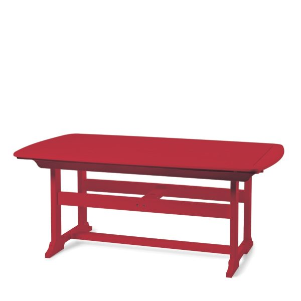 """Portsmouth 42"""" x 72"""" dining table with a Cherry finish"""