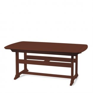 "Portsmouth 42"" x 72"" dining table with a Chestnut finish"
