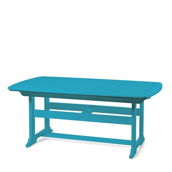 """Portsmouth 42"""" x 72"""" dining table with a Pool finish"""