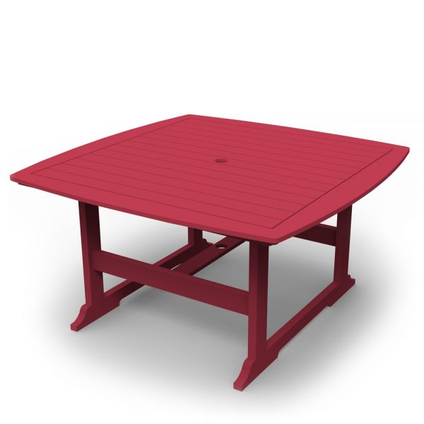 """Portsmouth 56"""" square dining table with a Cherry finish"""