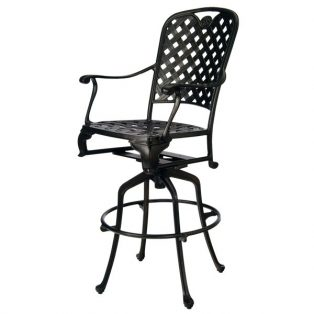 "Summer Classics Provance 30"" swivel barstool"