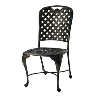 Summer Classics Provance cast aluminum patio dining side chair