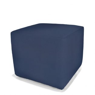 Round or Square pool stool with Sunbrella fabric