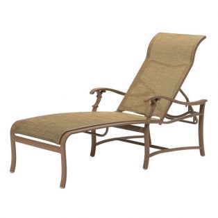 Tropitone Ravello sling chaise lounge