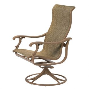 Tropitone Ravello Sing high back swivel rocker
