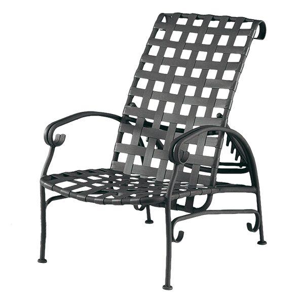 Ramsgate strap adjustable recliner chair