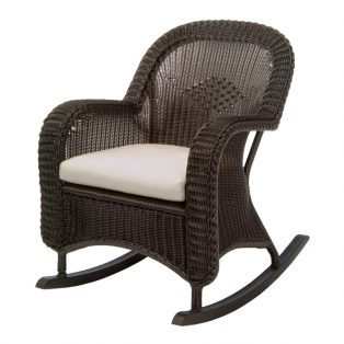 Classic Wicker plantation rocking chair