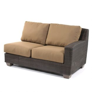 Saddleback Right Arm Face Love Seat Sectional