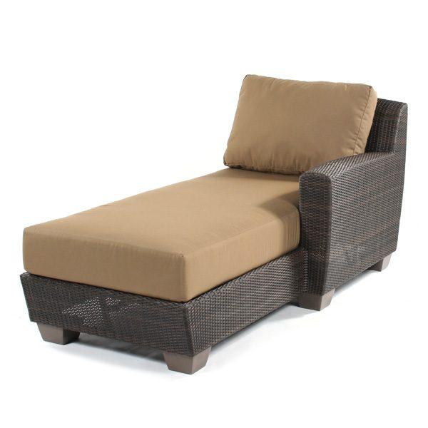 Saddleback Right Arm Facing Chaise Lounge Sectional Unit