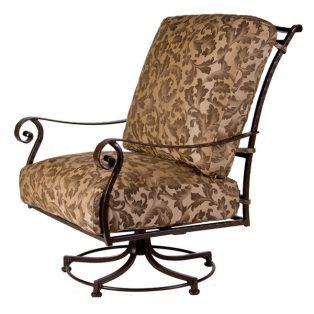 San Cristobal Swivel Rocker Club Chair