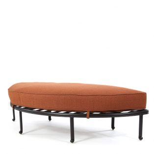 Santa Barbara crescent sofa ottoman