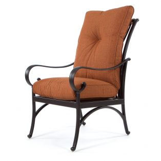 Santa Barbara outdoor dining chair