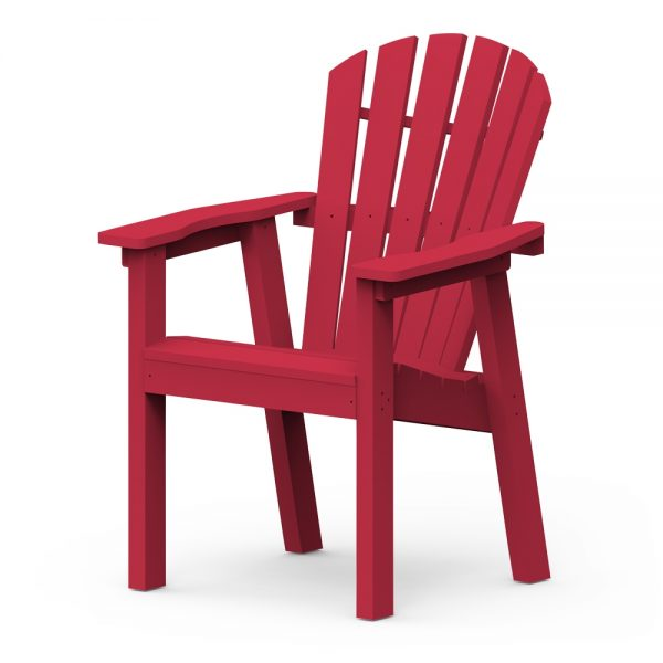 Adirondack Shellback dining chair with a Cherry finish