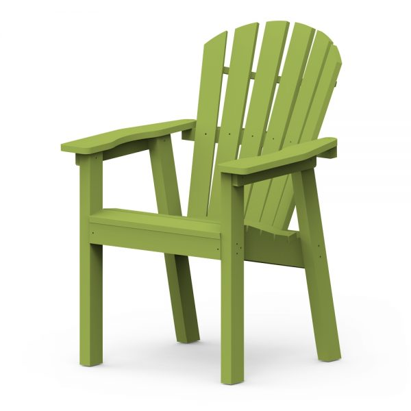 Adirondack Shellback dining chair with a Leaf finish