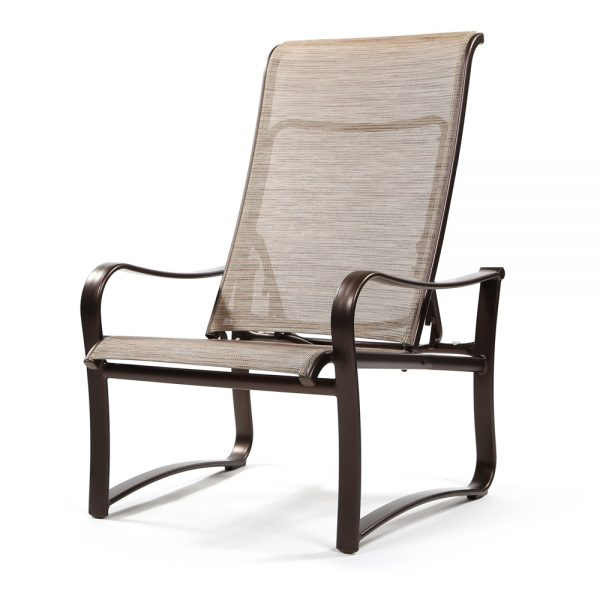 Shoreline Sling patio recliner