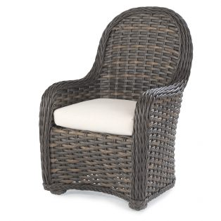South Hampton wicker dining chair