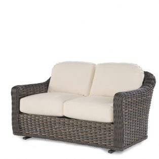 South Hampton wicker double glider