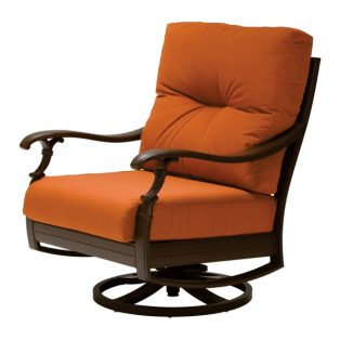 Ravello cushion swivel rocker lounge chair