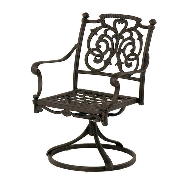 St. Augustine swivel rocker