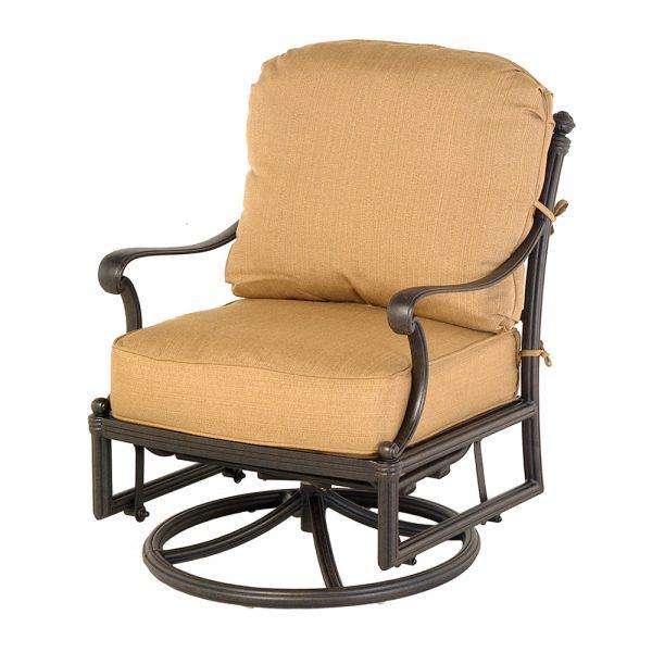 St. Augustine swivel rocker club chair