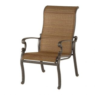 St. Augustine sling patio dining chair