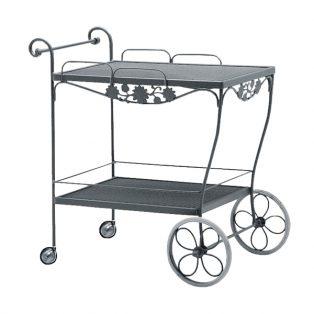 Briarwood wrought iron tea cart