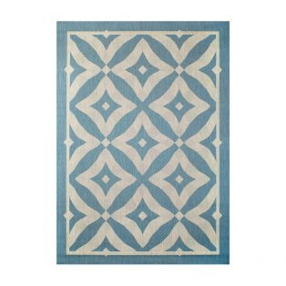 "Treasure Garden Charleston Spa 5'3"" x 7'4"" outdoor area rug"