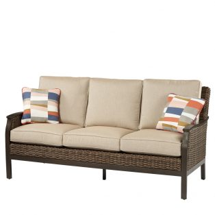 Trenton woven sofa