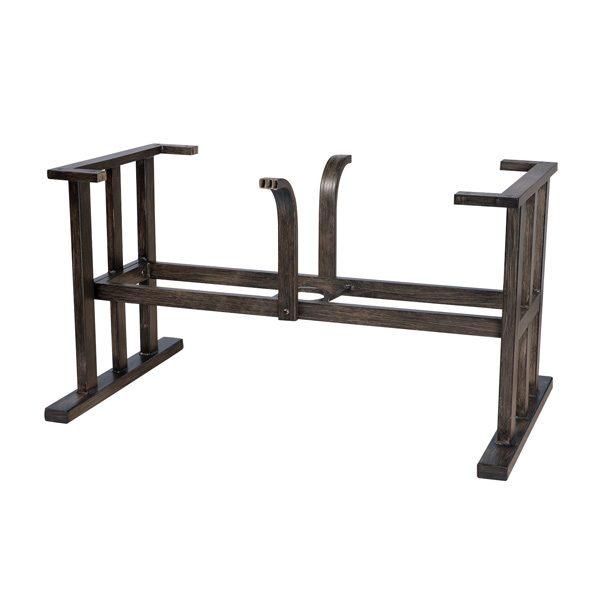 Trestle large dining table base
