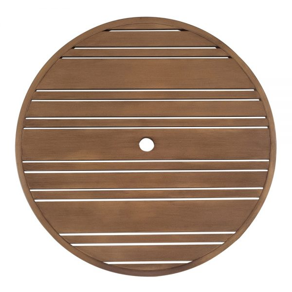 """36"""" Round Tri-Slat extruded top"""