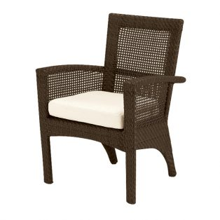 Trinidad dining arm chair - Java finish