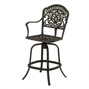 Tuscany swivel counter stool
