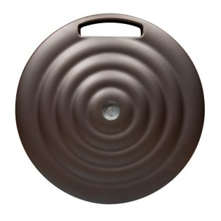 Umbrella base 100lb - Monaco - Bronze top view