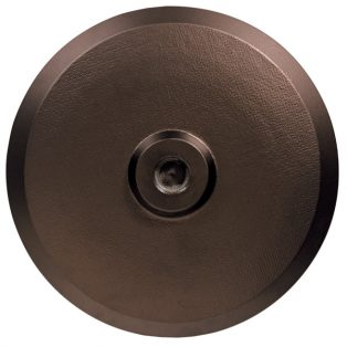 Umbrella base 50lb - Bronze top view