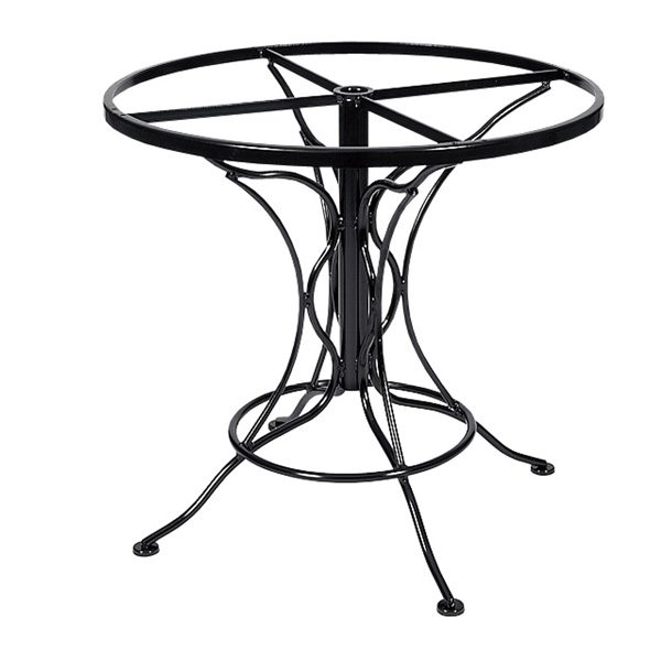 Universal round dining table base