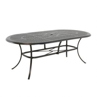"Coronado 42"" X 84"" oval dining table"