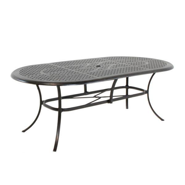 "Coronado 42"" X 84"" oval dining table"