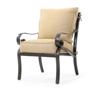 Veracruz cast aluminum dining chair